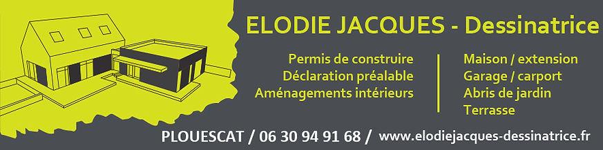 Carte de visite Elodie Jacques Dessinatrice
