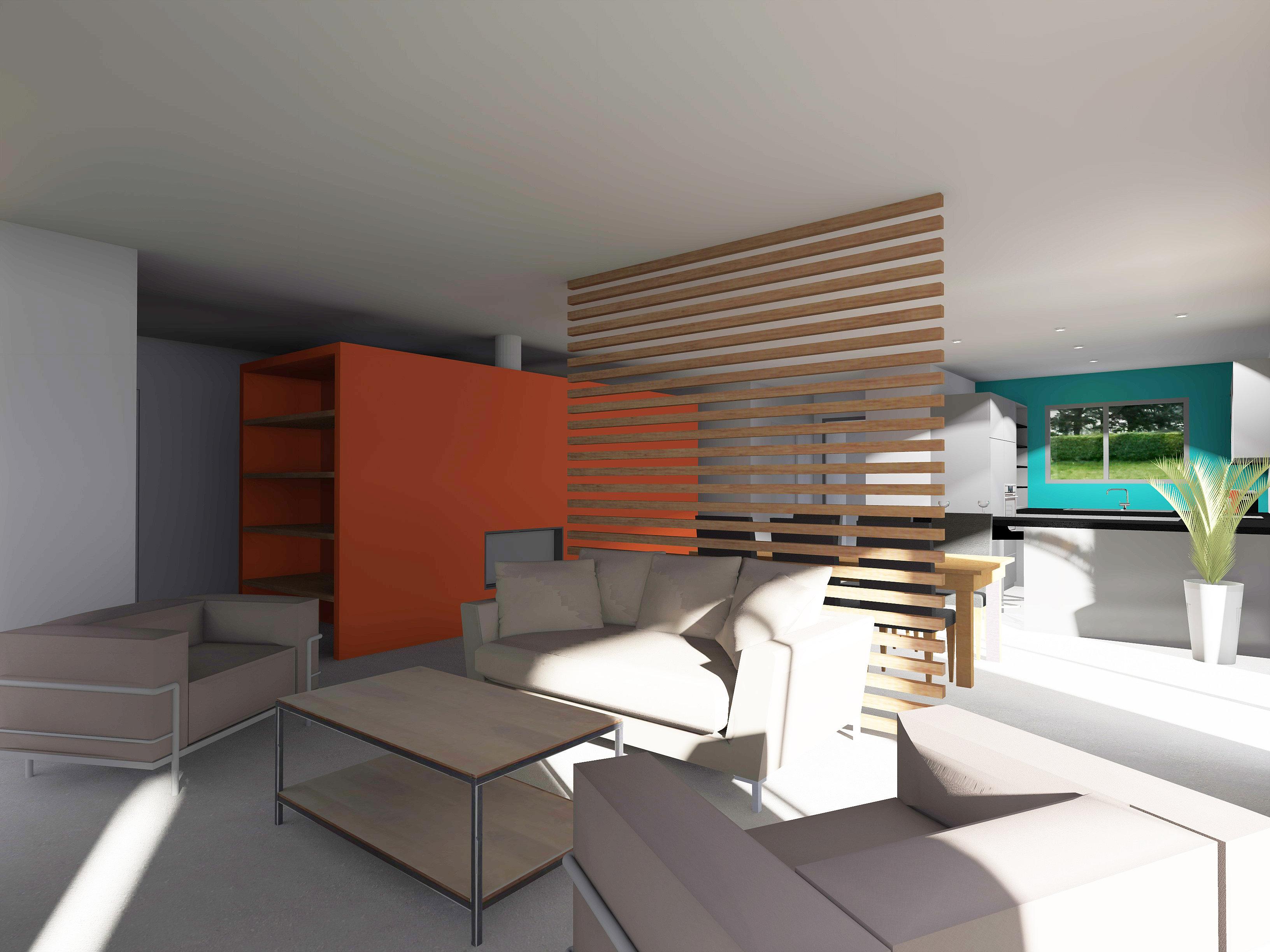 amnagement intrieur maison neuve amenagement interieur maison neuve dune maison en pierre dans. Black Bedroom Furniture Sets. Home Design Ideas