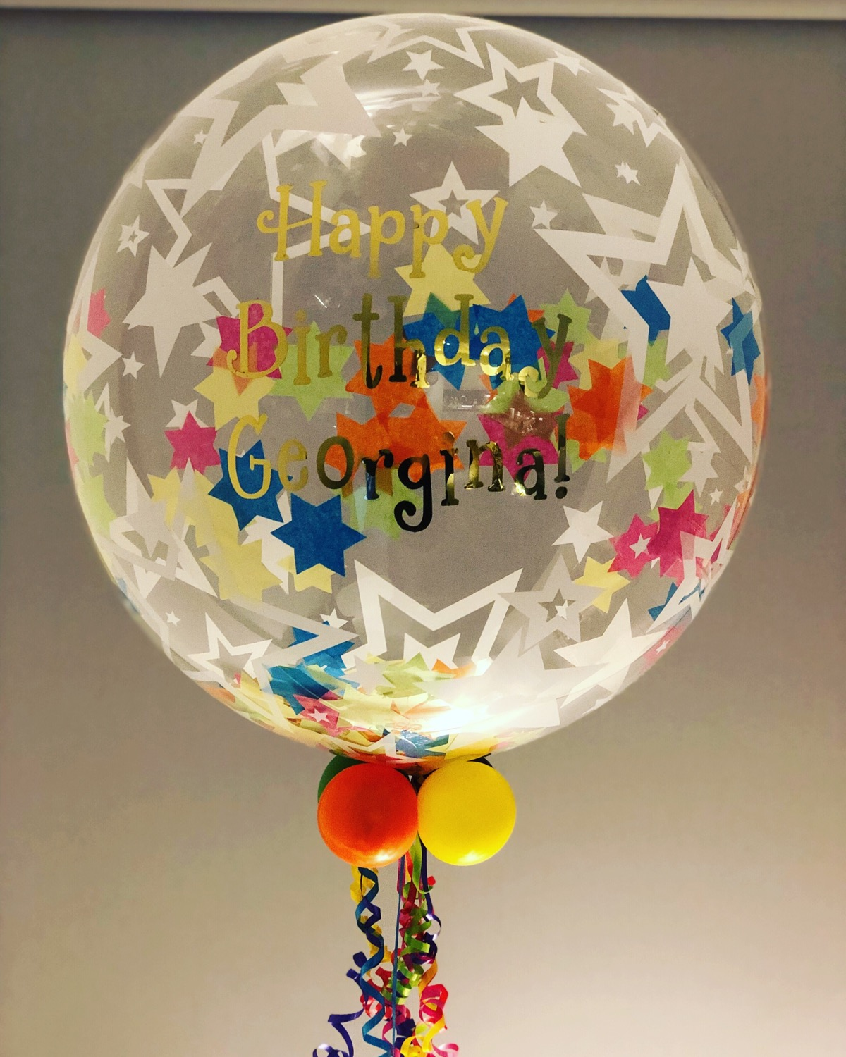 Bright Birthday Bubble