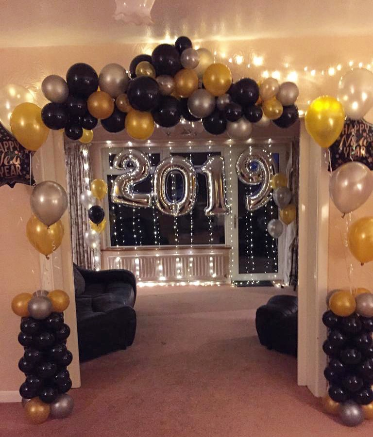 New Years Eve Display