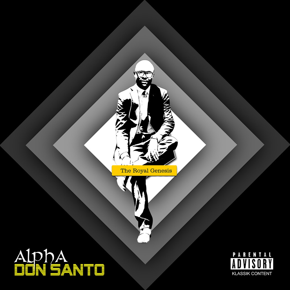 Alpha album by Don Santo cover [2012]   Designed by Blame It On Don