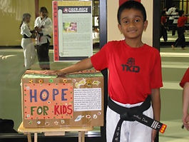 Community Project by a 10 year old black belt