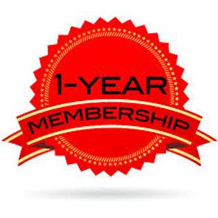 1 year prepaid membership - 2nd student (sibling discount)