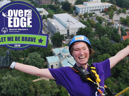 Going Over the Edge for Special Olympics