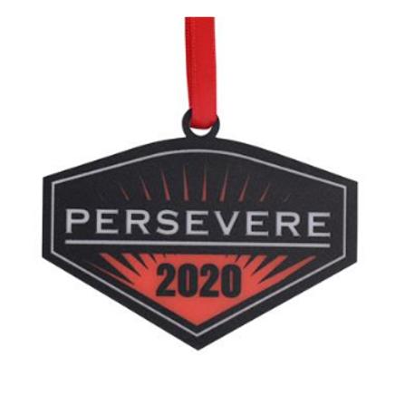 Persevere Ornament