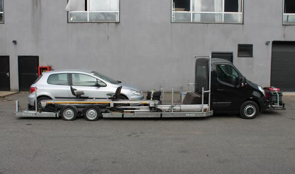 Voiture travelling loader MASTER noir