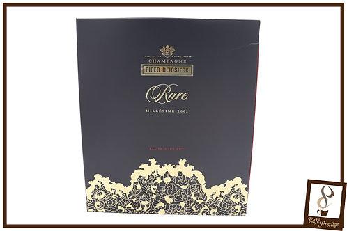Piper-Heidsieck Champagne Rare 2002 flute gift set