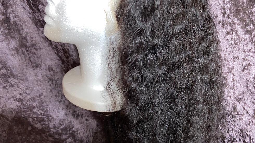 Deep Brazilian human hair wig