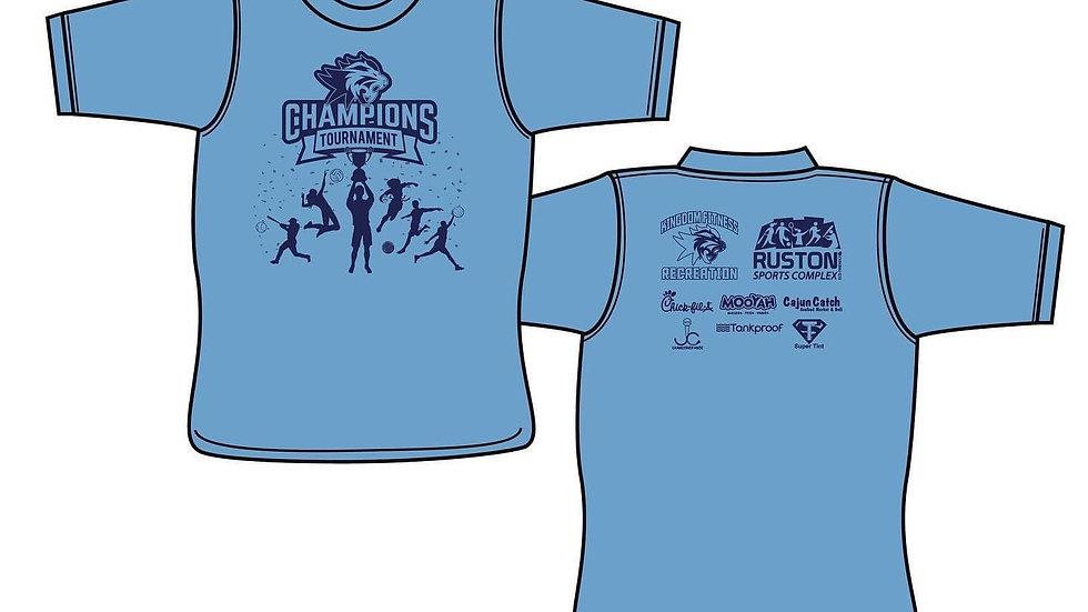 2021 Champions Tournament Shirt