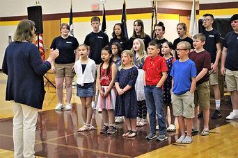 Memorial Day Service at Mt. Pleasant iowa
