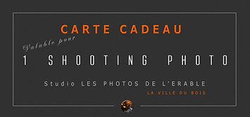 CHEQUE CADEAU shooting photo