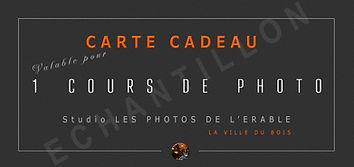 exemple CHEQUE CADEAU 3 cours de photo.j