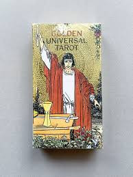 Golden Universal Tarot by Los. S aw3110.
