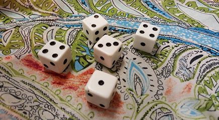 Angel Works 3110 Dice Roll for deck.