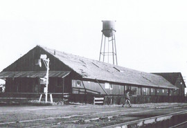 One of Florin's packing sheds & basket factory
