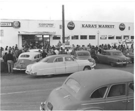 Kara's Market 1950's