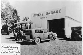 French's Garage 1930's