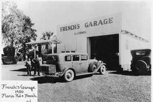 French's Garage 1930's