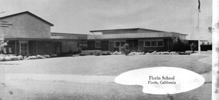 Florin Elementary on Kara Drive 1950's