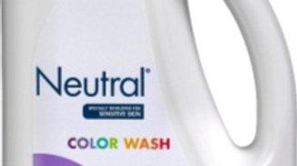 Tvättmedel Neutral color oparfymerad flytande 1,08L