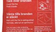 Brandfilt 1,2 x 1,8 m