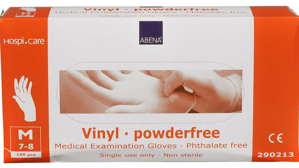 Handskar vinyl ftalat- och puderfria stl. M 100 st/fp