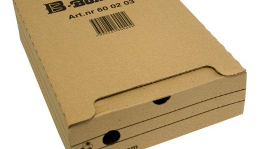 Arkivbox B-Box™ 8cm, Brun
