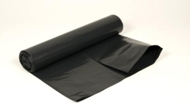 Plastsäck svart 125 L 750 x 1150 mm 40 my 10 st/rulle