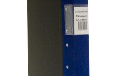 Pärm A4 blå 40mm trärygg