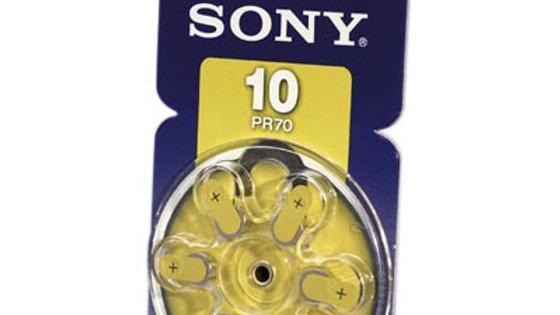 Batteri till hörapparat DA 6 st/fp NR10