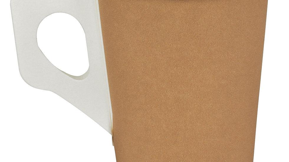 Bägare papper 18 cl med öra  80 st/fp