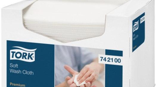 Tvättlapp 1-lag Soft-Wash 19x30cm 135st/fp