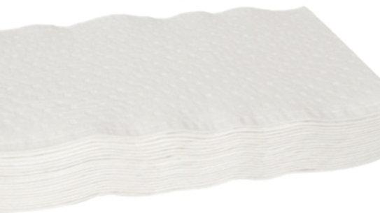 Tvättlapp papper 3-lager 19x26 1500st/fp