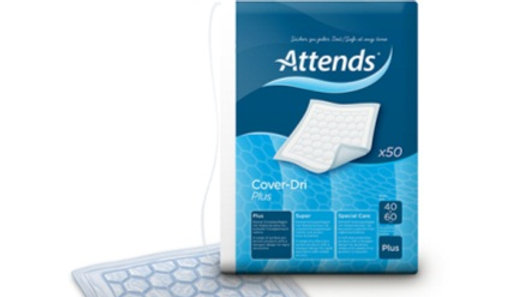 Inkontinensskydd Attends Cover-Dri Plus 40x60 cm 50 st/fp