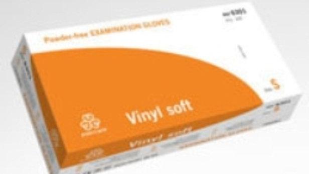 Handskar vinyl puderfri Evercare soft S 100st/fp