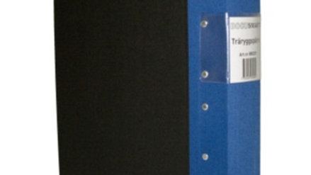 Pärm A4 blå 60mm trärygg