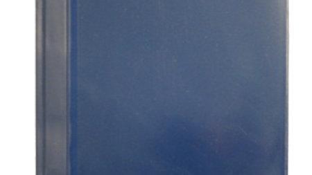 Offertmapp A4 blå med ficka