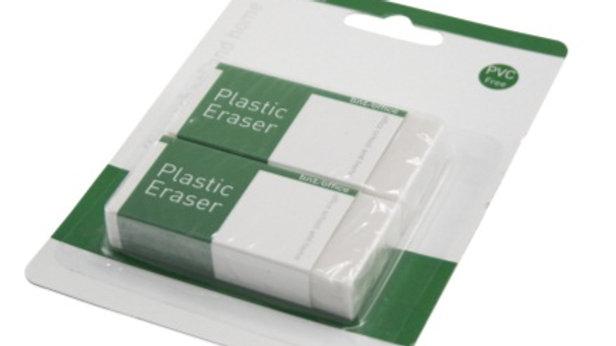 Radergummi utan PVC 2st/fp