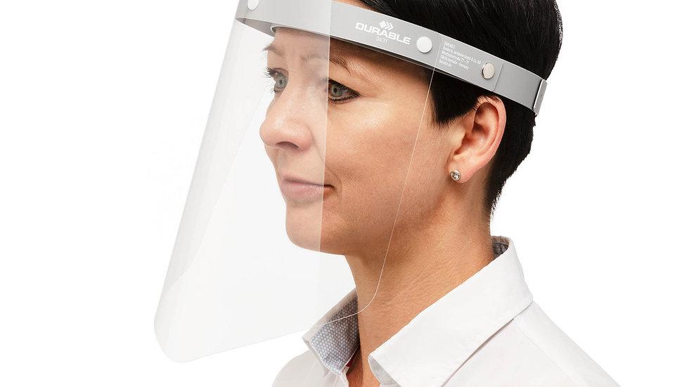Skyddsvisir för stänk mot ansiktet, CE märkt