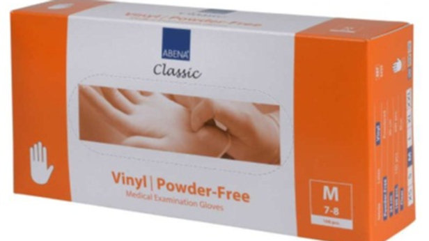 Handskar vinyl puderfria M transp 100st/fp