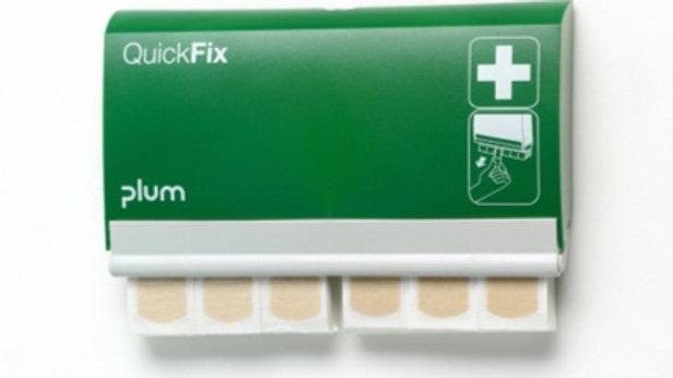 Plåsterdispenser med 2 x elastic refiller 1x90st