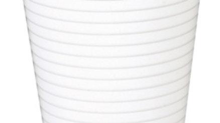 Bägare plast vit 21 cl 100 st/fp