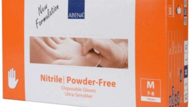 Handskar Nitril pf M transp Ultra Sensitiv 100st/fp