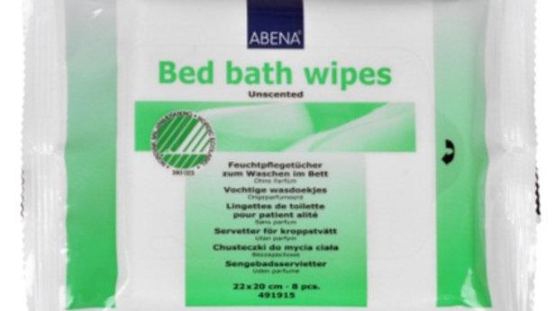 Tvättlapp våtservett Abena för kroppstvätt 8-pack