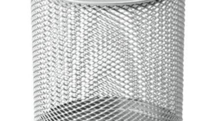 Pennkopp silver rund 100 x 90 mm