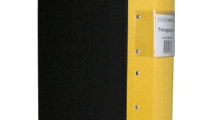 Pärm A4 gul 60mm trärygg