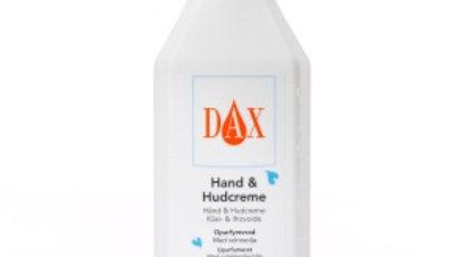 Hand och hudkräm Dax oparfymerad 600ml m pump
