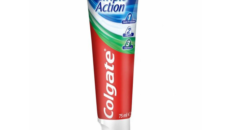 Tandkräm Colgate, Triple Action 75 ml