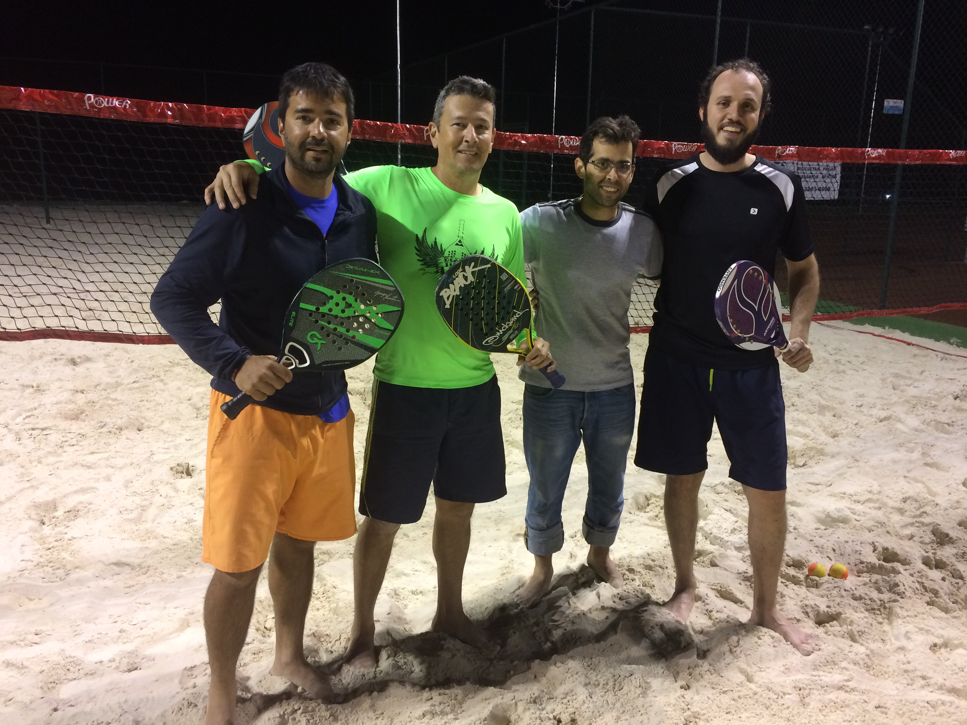 Masculina Beach Tennis