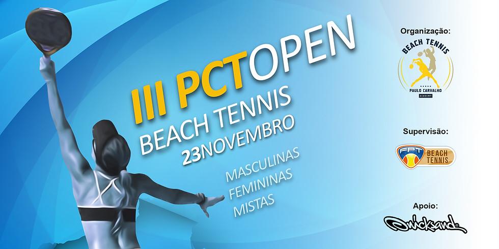 III PCT Open Beach Tennis 2018